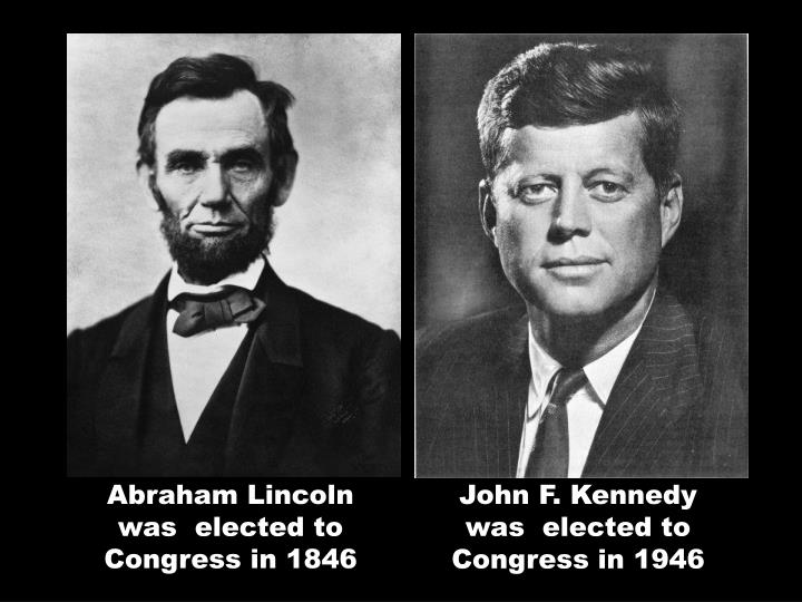 Abraham Lincoln was elected to Congress in 1846