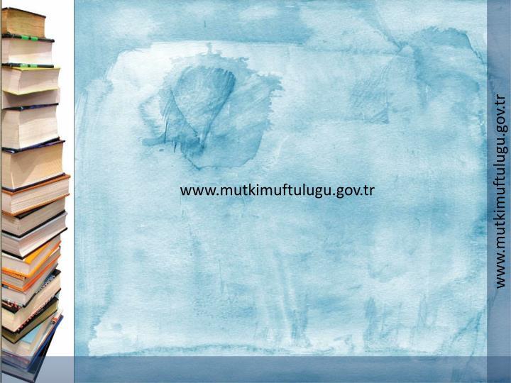 www.mutkimuftulugu.gov.tr