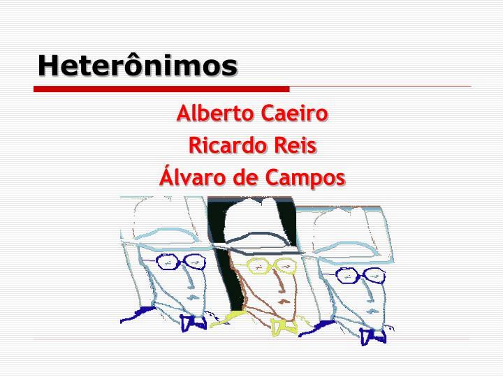 Heterônimos