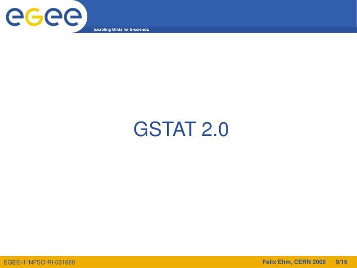 GSTAT 2.0