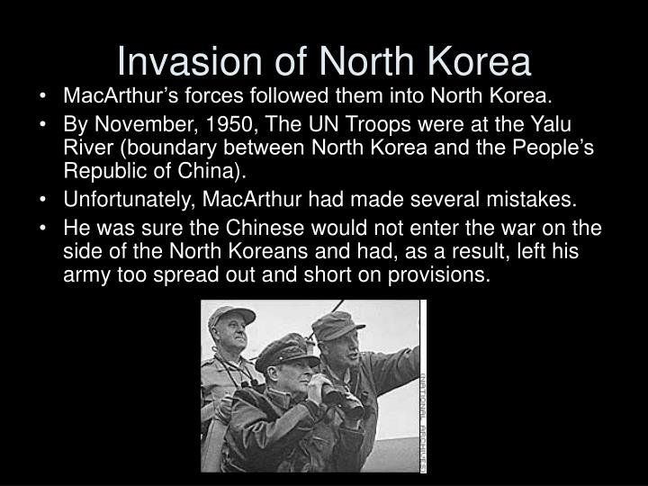 Invasion of North Korea