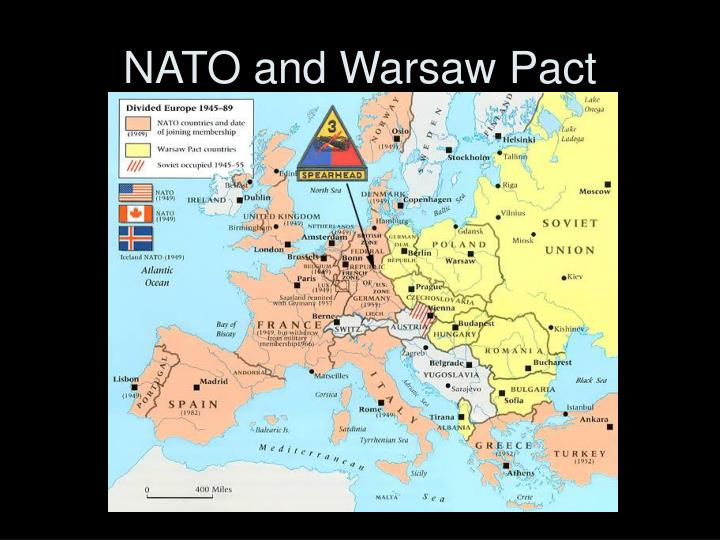 NATO and Warsaw Pact