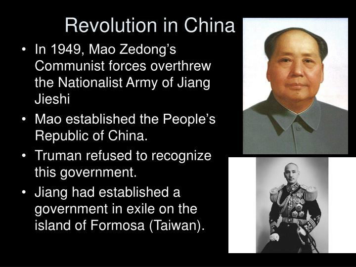 Revolution in China