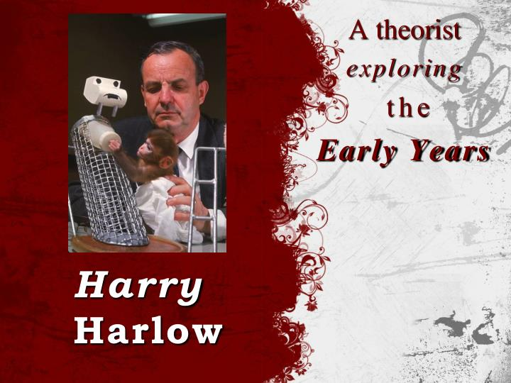 grand theory paper harry harlow