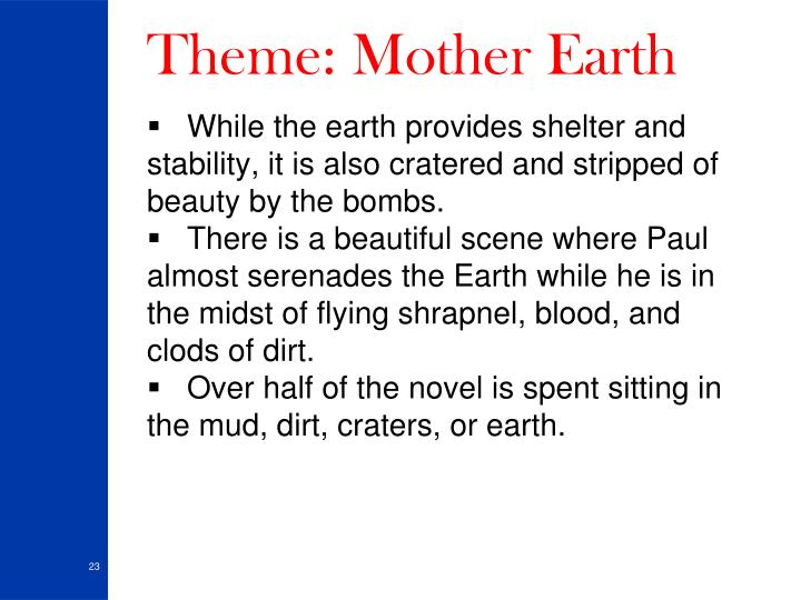 Theme: Mother Earth