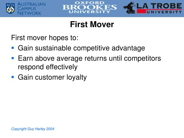 First Mover