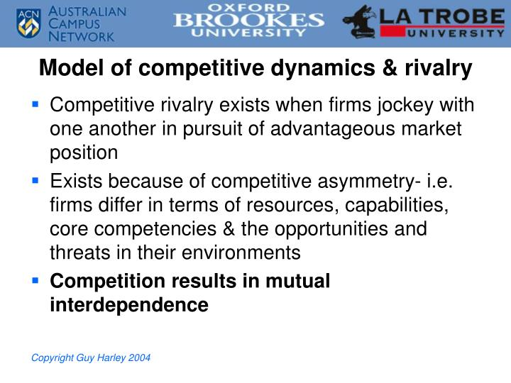 Model of competitive dynamics & rivalry