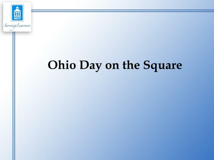 Ohio Day on the Square