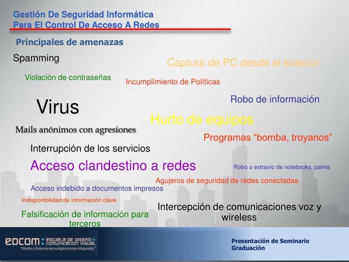 Gestión De Seguridad Informática