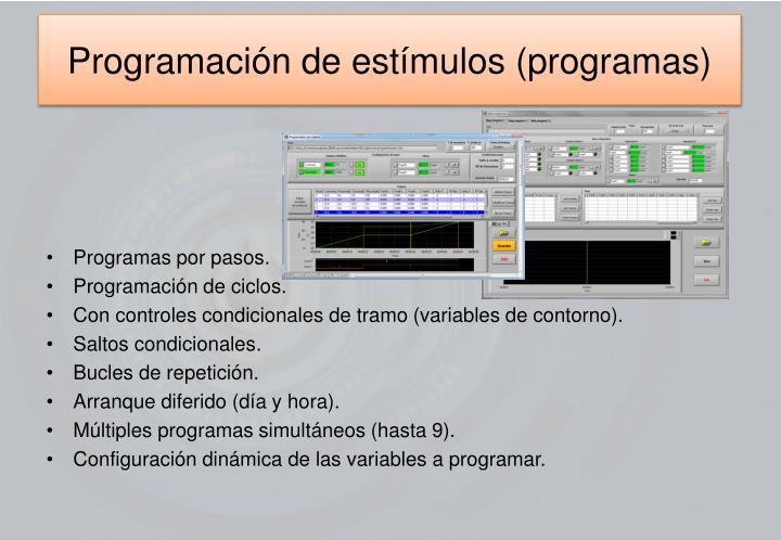 Programación de