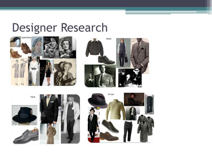 Designer Research
