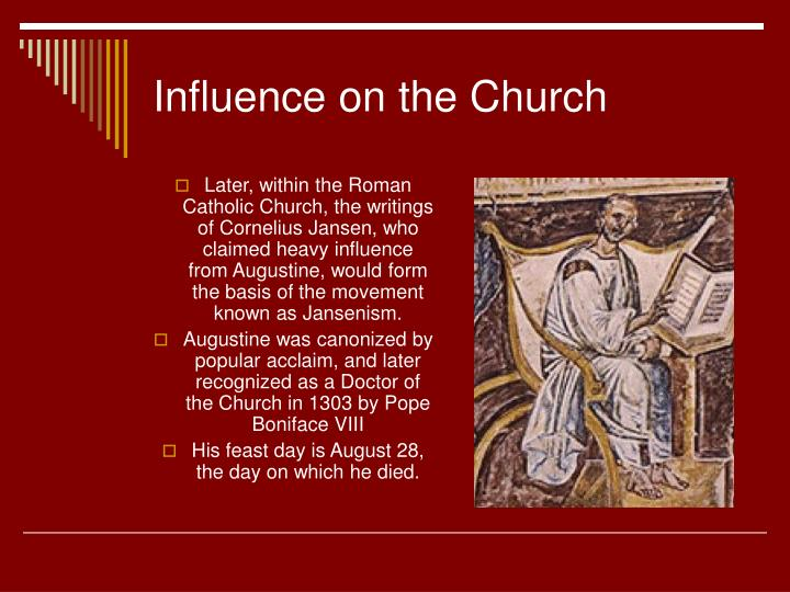 Influence on the Church