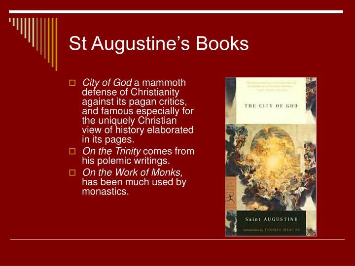 St Augustine's Books