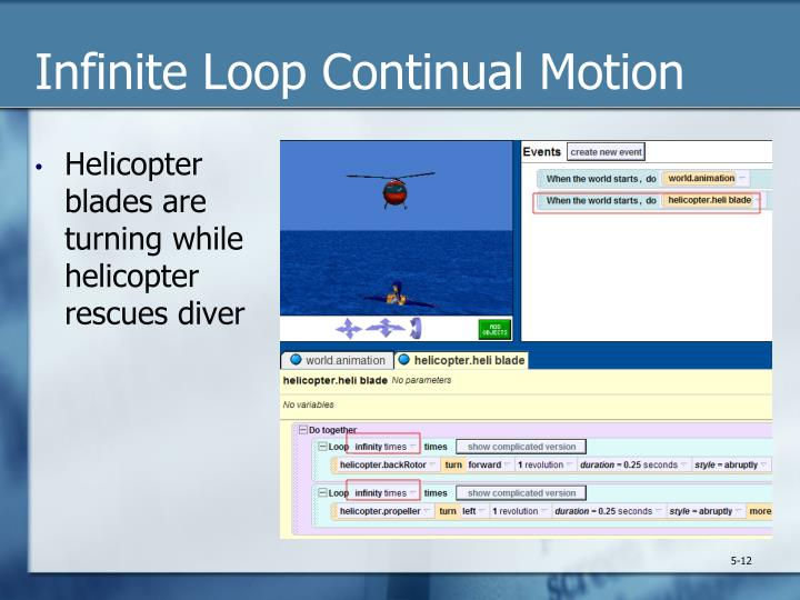 Infinite Loop Continual Motion