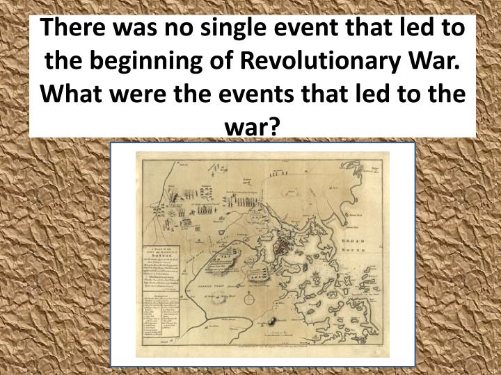 the events that led to the great war Overview of responsibilities the events and conditions which led up to the great war were so complicated that to unravel them fully is virtually impossible.