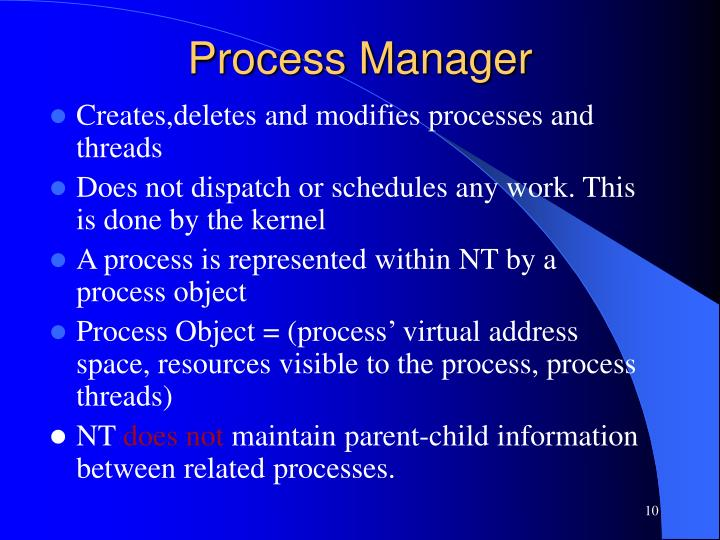 Process Manager