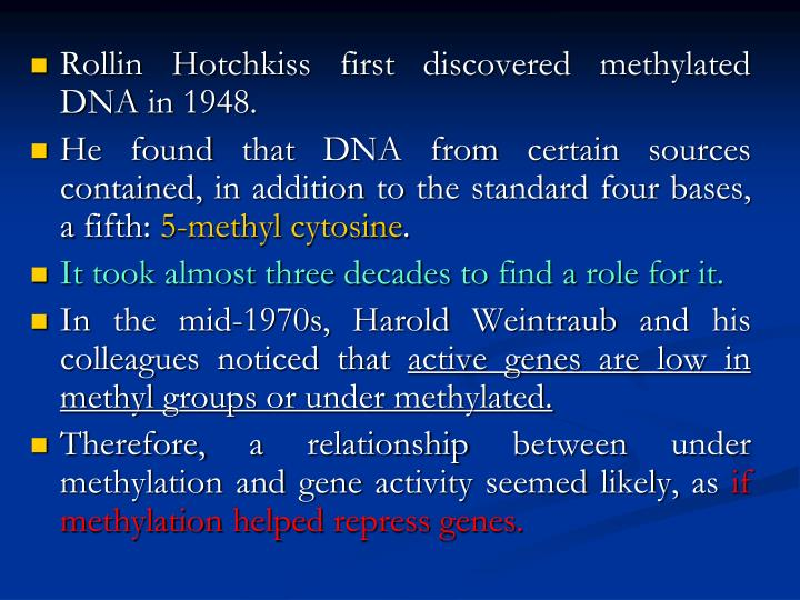 Rollin Hotchkiss first discovered