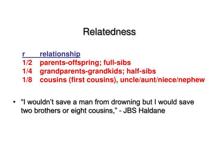 Relatedness