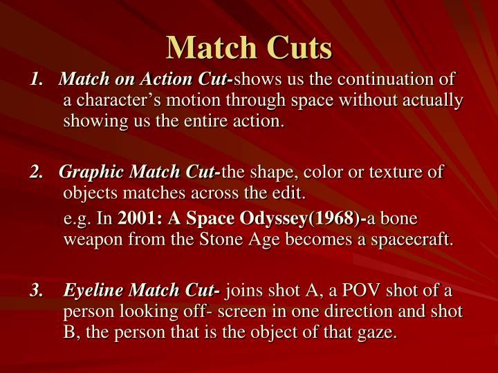 Match Cuts