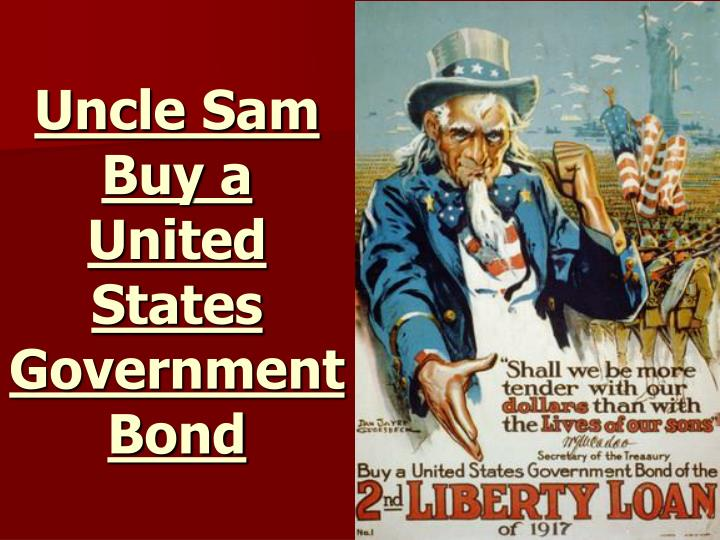 Uncle Sam Buy a United States Government Bond