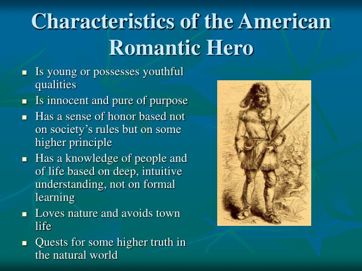 characteristics romanticism early american writing