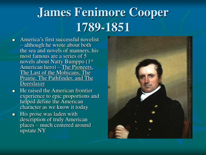 james fenimore coopers life and writing career Buy james fenimore cooper: a life by  career he created a national  laying out not just what james fenimore cooper did in his life but also giving a.
