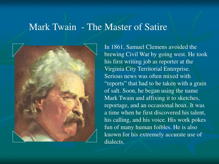 How to Use Satire Like Mark Twain