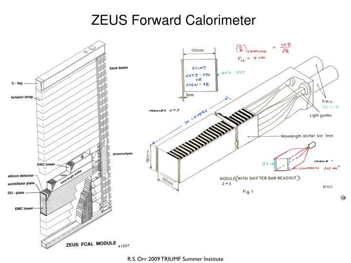 ZEUS Forward Calorimeter