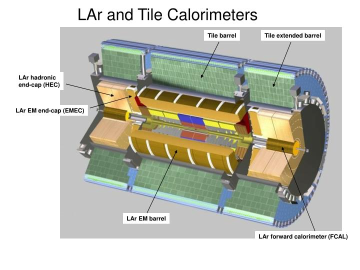 LAr and Tile Calorimeters