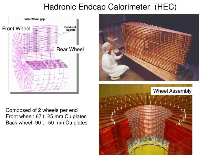 Hadronic Endcap Calorimeter  (HEC)