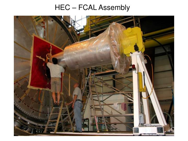 HEC – FCAL Assembly