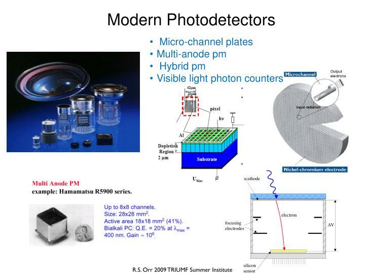 Modern Photodetectors