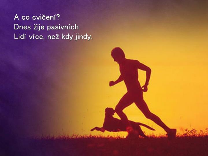 A co cvičení?