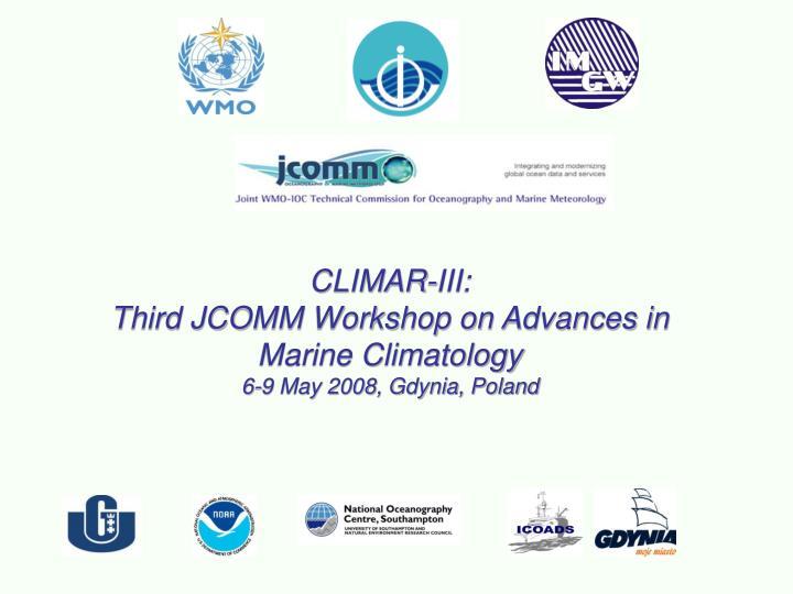CLIMAR-III:
