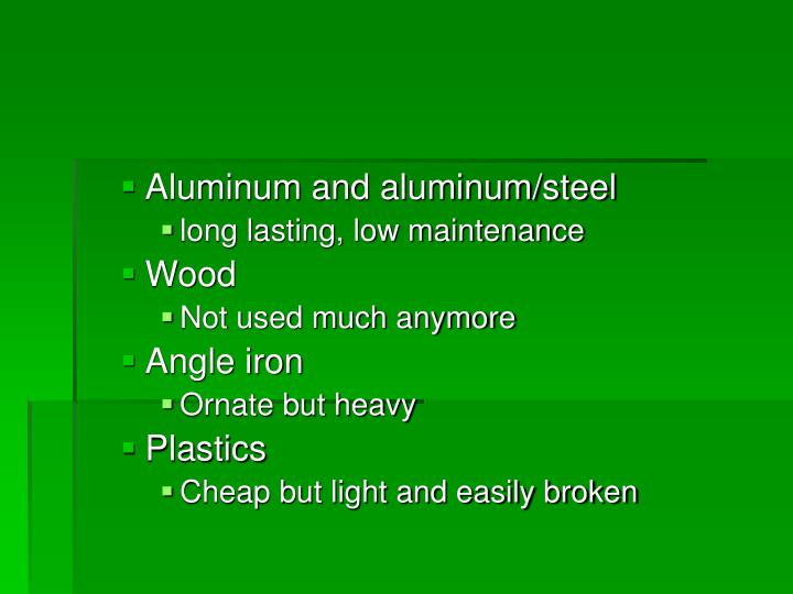 Aluminum and aluminum/steel