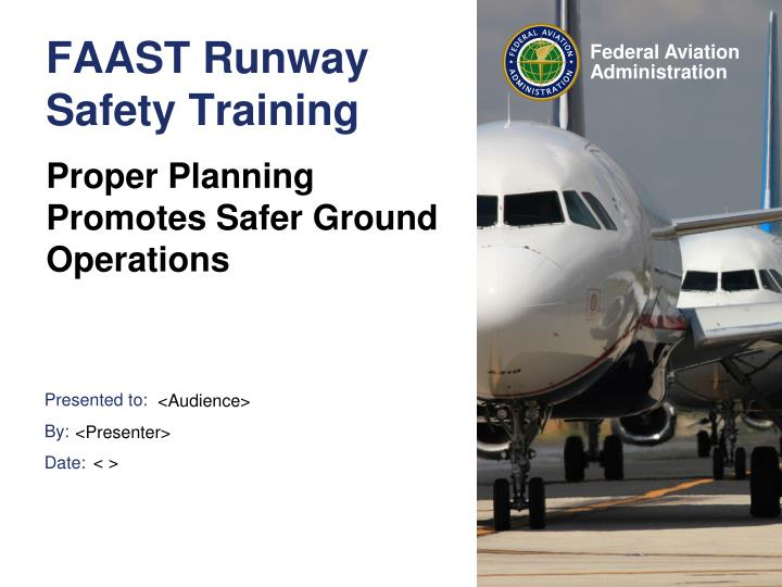 FAAST Runway Safety Training