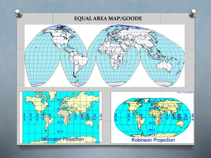EQUAL AREA MAP/GOODE
