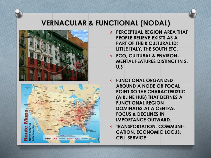 VERNACULAR & FUNCTIONAL (NODAL)