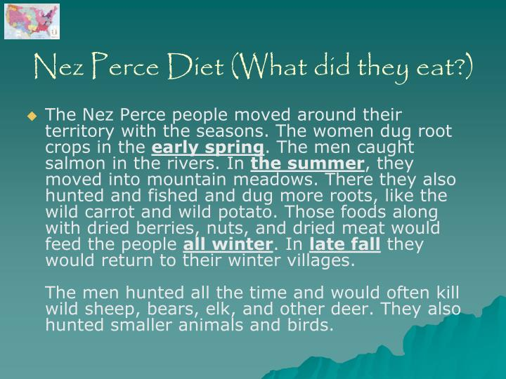 Nez Perce Diet (What did they eat?)