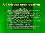 a christian congregation2