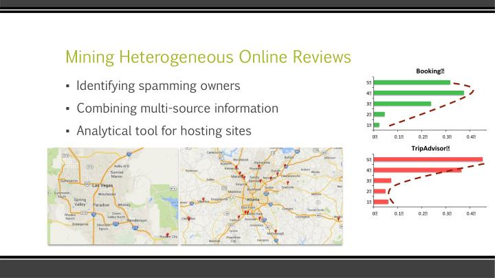 Mining Heterogeneous Online Reviews