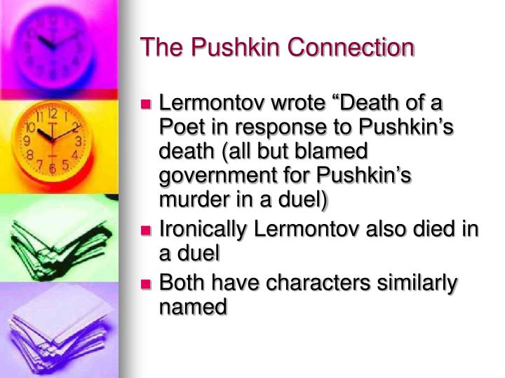 The Pushkin Connection