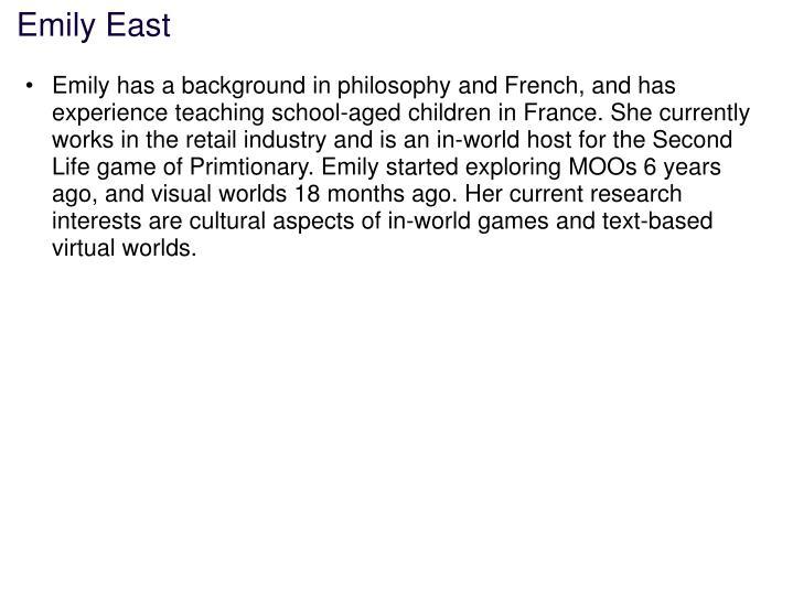 Emily East