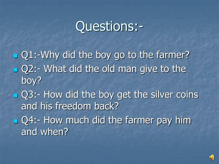 Questions:-