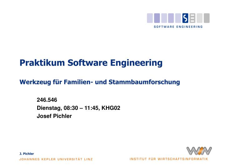 Praktikum Software Engineering