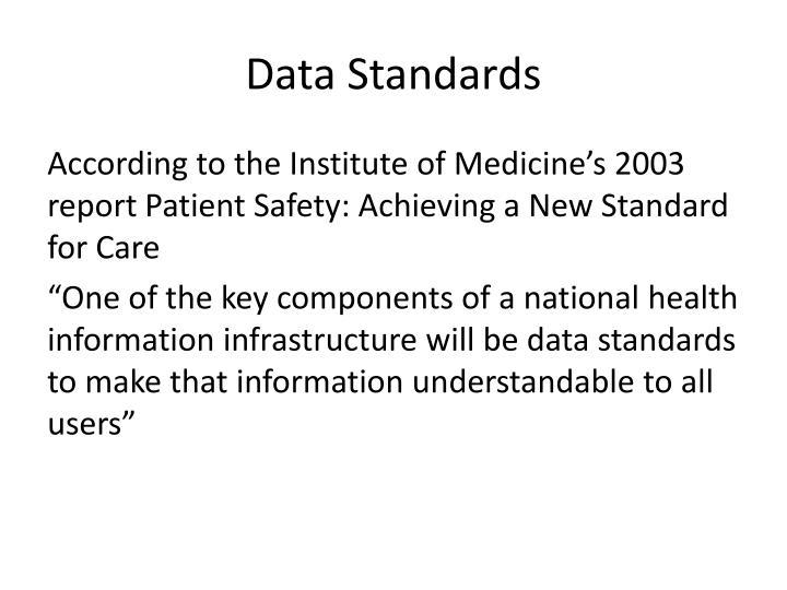 Data Standards