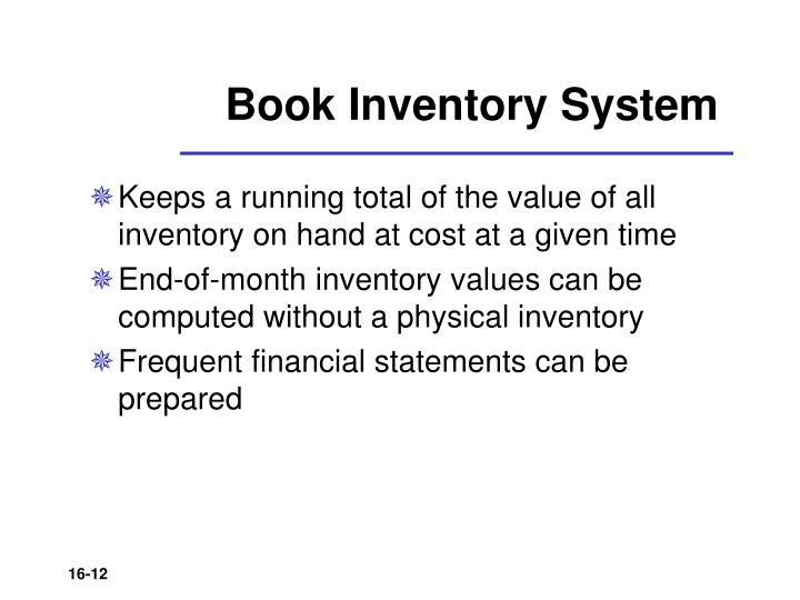 Book Inventory System