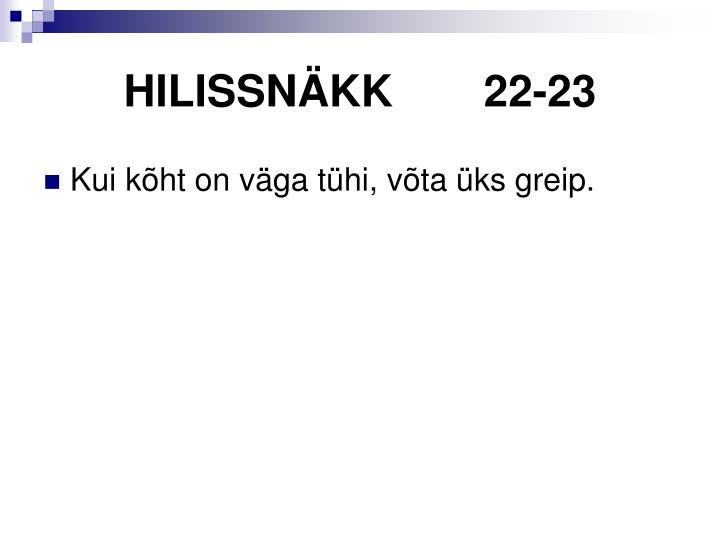 HILISSNÄKK22-23
