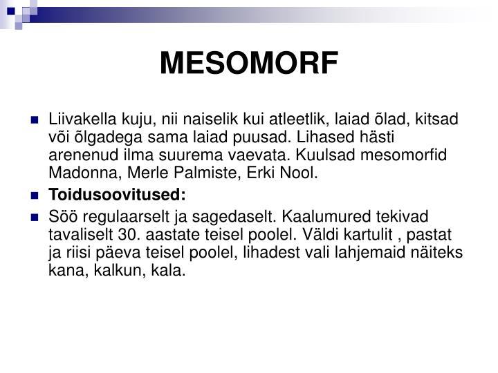 MESOMORF
