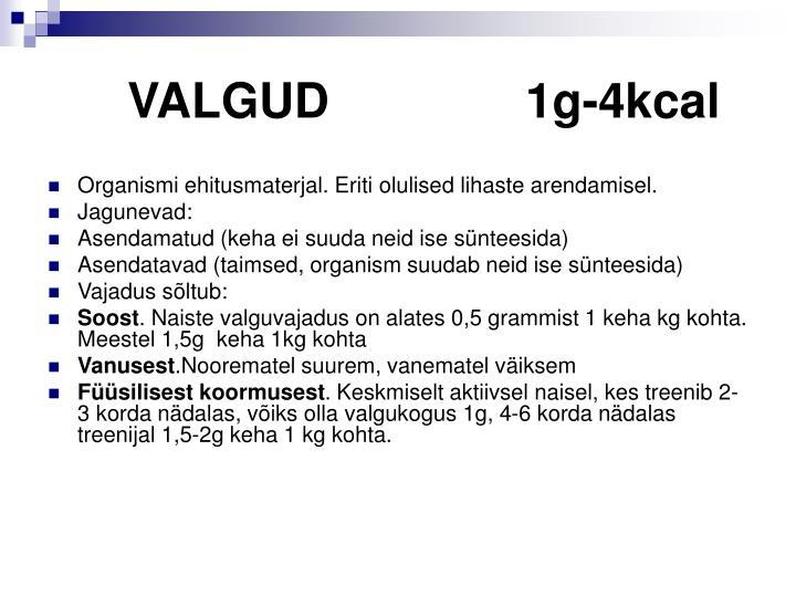 VALGUD1g-4kcal